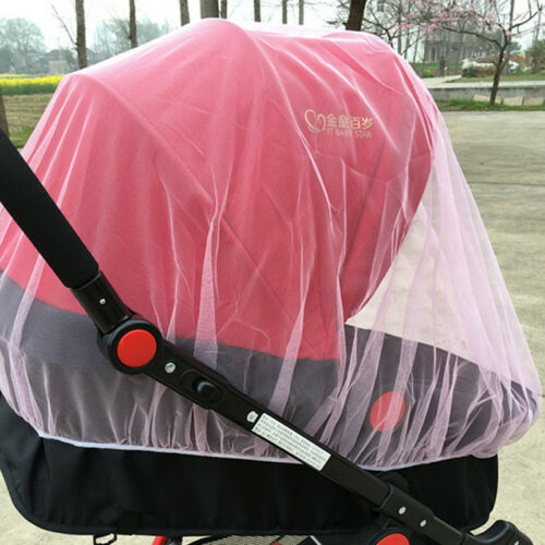Protect Cover Net Mesh Universal Pram Stroller Mosquito Fly Insect Sun Dust Baby