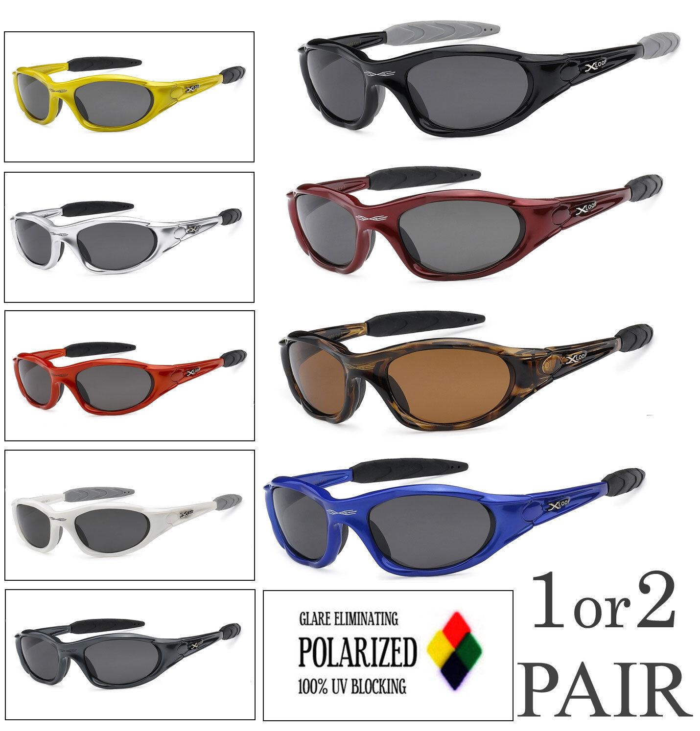 1 O 2 Par X-Loop Lente Polarizada Deporte Ciclismo Pesca Atletismo UV400 Sol