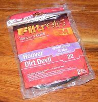 Filtrete Vacuum Belts Hoover Wind Tunnel & 160 (dirt Devil 22) 2 Belts Included