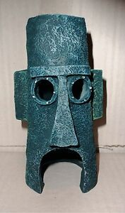 Squidward-Home-SpongeBob-Easter-Island-House-Penn-Plax-SBR11-Aquarium-Ornament