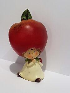 Détails sur Pomme Fille Enfant automne DECO drôle niedlilch Dekofigur Père  Noël SECRET Coloré Décoration de Table- afficher le titre d\'origine