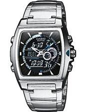 Casio EFA-120D-1AVEF Men's Analog & Digital Quartz Multifunction Watch Steel NEW