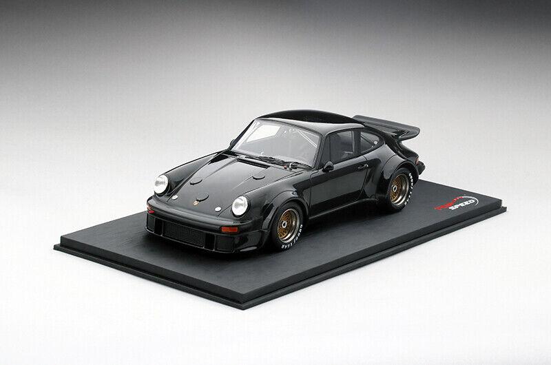 Top Speed Porsche 934 1976 noir 1 18
