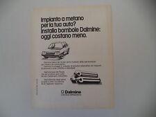 advertising Pubblicità 1976 BOMBOLE DALMINE