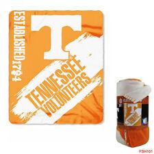 "New Northwest NCAA Tennessee Volunteers Large Soft Fleece Throw Blanket 50""X60"""
