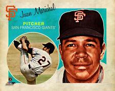 JUAN MARICHAL Retro 1960s-Vintage-Style San Francisco Giants Premium Poster