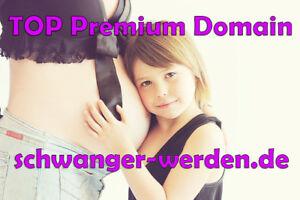 PREMIUM-Keyword-Domain ★★★ schwangerwerden.de ★★★ Blog, Affiliate, Kliniken