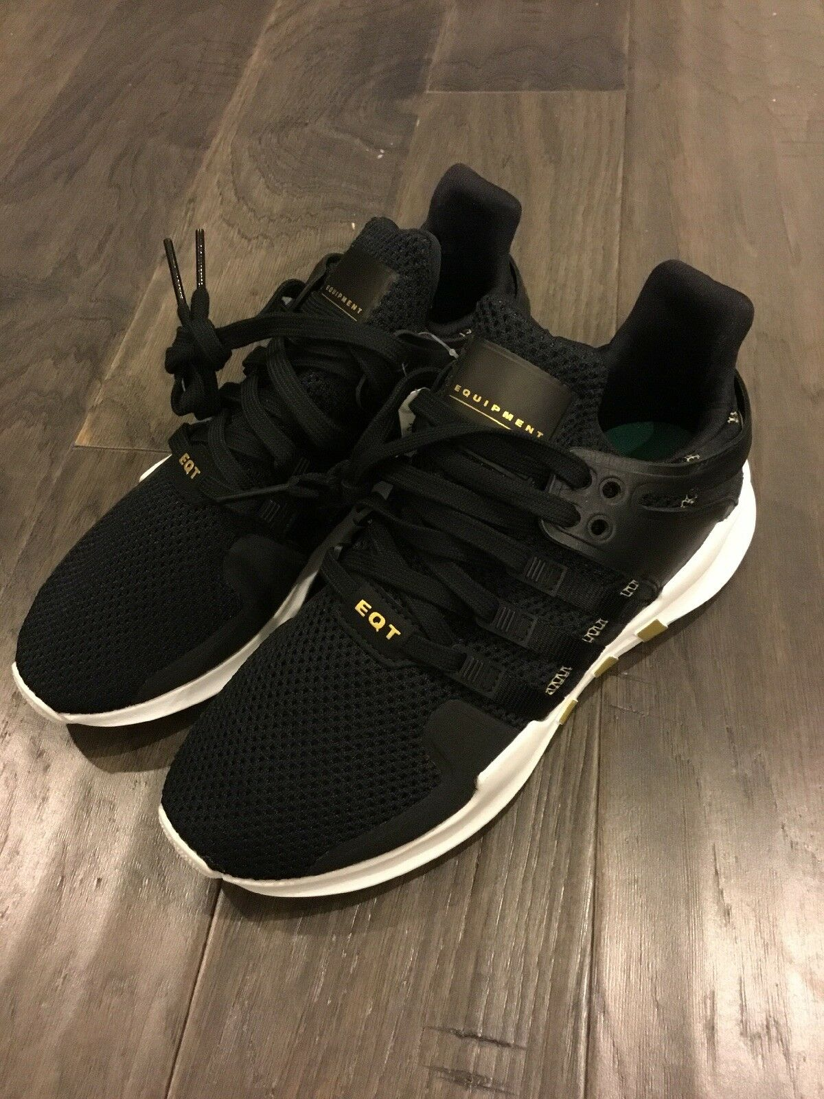 Adidas Equipment Support Adv W EQT shoes shoes shoes Sneakers New AC7972 Black gold Size 8.5 a8eb3b