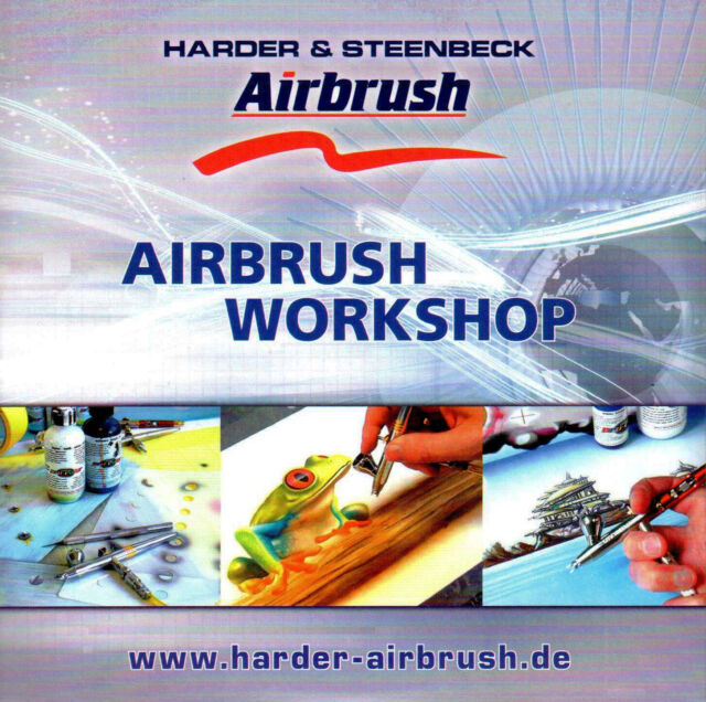 AIRBRUSH DVD -  HARDER & STEENBECK AIRBRUSH WORKSHOP DVD - NEW