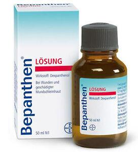 Details about 10 x Bepanthen Solution Losung Bayer / Bepantol Liquido  Wholesale Resale 50ml UK
