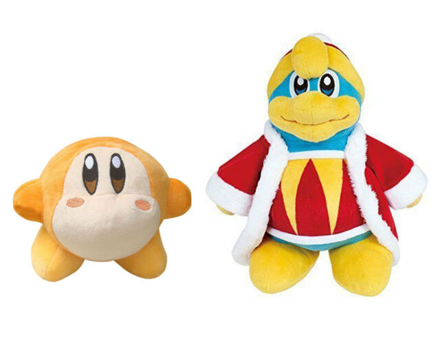 2PCS New Kirby Waddle Dee and Waddle Doo Soft Plush Toy Doll Figure Stuffed Toy