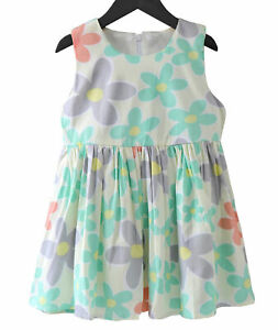 Cotton dress Abstract Print Girls Clothing Girls Dress Frock Green Dress Baby Dress Party dress Handmade Dress Toddler Dress