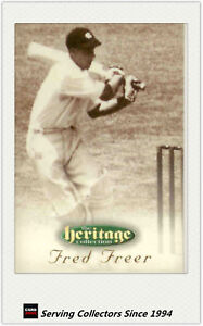 RARE!! 1996 Futera Cricket Heritage Promo Card: #5 Fred Freer
