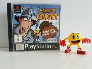 INSPECTOR-GADGET-GADGET-039-S-CRAZY-MAZE-PLAYSTATION-1-PS1