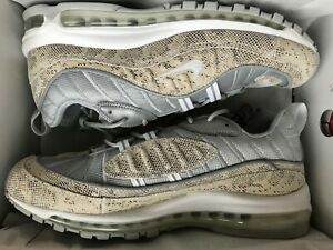 factory authentic 20002 a0370 Details about NEW Supreme x Nike Air Max 98 Snakeskin Size 11