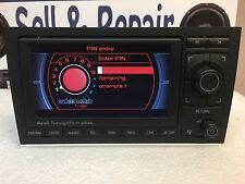 AUDI Radio GPS Navigation Display Screen RNS-E OEM 8E0 035 192 E