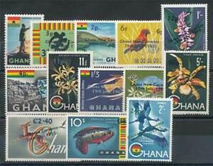 100% De Qualité 231169) Ghana Nº 224-236 ** Uva Décimal-afficher Le Titre D'origine