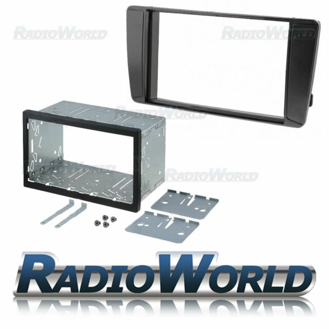 Skoda Octavia II Double Din Fascia Panel Adapter Plate Cage Fitting Kit