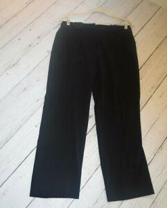 Para Mujer 10 10p Larry Levine Petite Spt Negro Carrera Vestido Stretch Pantalones Sueltos Ebay