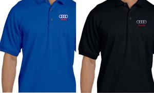 /Polo para hombre Audi Original/ azul