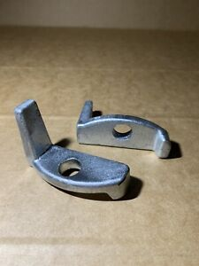 Land Rover Series 1 / 2/ 2a/ 3 Bonnet Spare wheel clamp 347262  x2