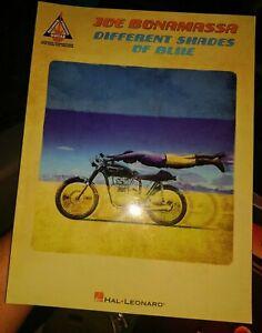 Joe Bonamassa Different Shades of Blue Guitar Recorded Versions TAB Music Book
