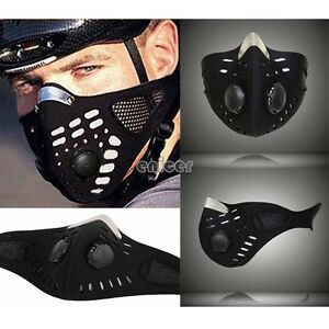 Anti-polvo-mitad-cara-mascara-filtro-boca-mufla-motos-bicicleta-Bike-esqui-ENE