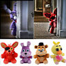 "4pc FNAF Five Nights at Freddy's Chica Bonnie Foxy 7"" Plush Doll Toy Gift"