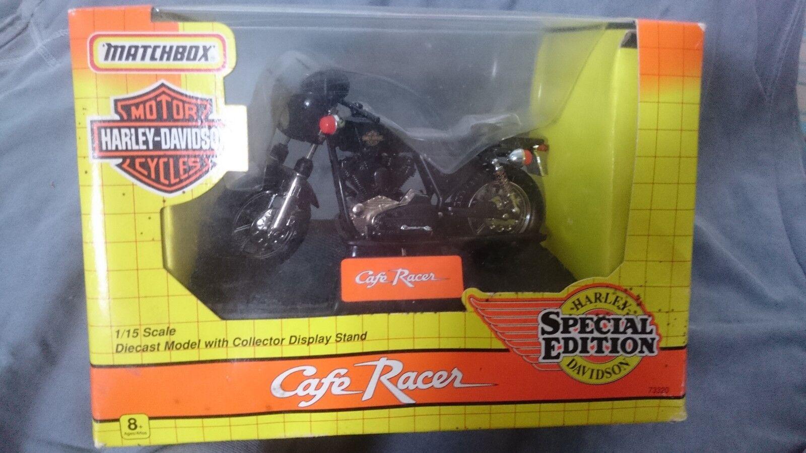 MATCHBOX HARLEY DAVIDSON CAFE RACER SPECIAL EDITION 73320 1 15 SCALE