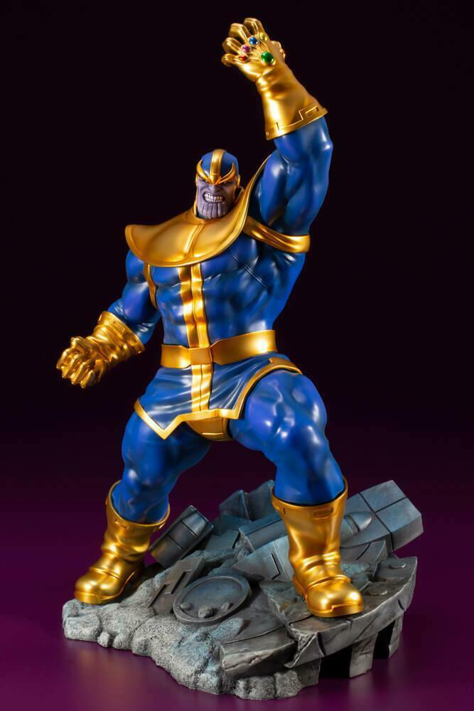 Marvel Universe AVENGERS SERIES THANOS ARTFX+ Statue