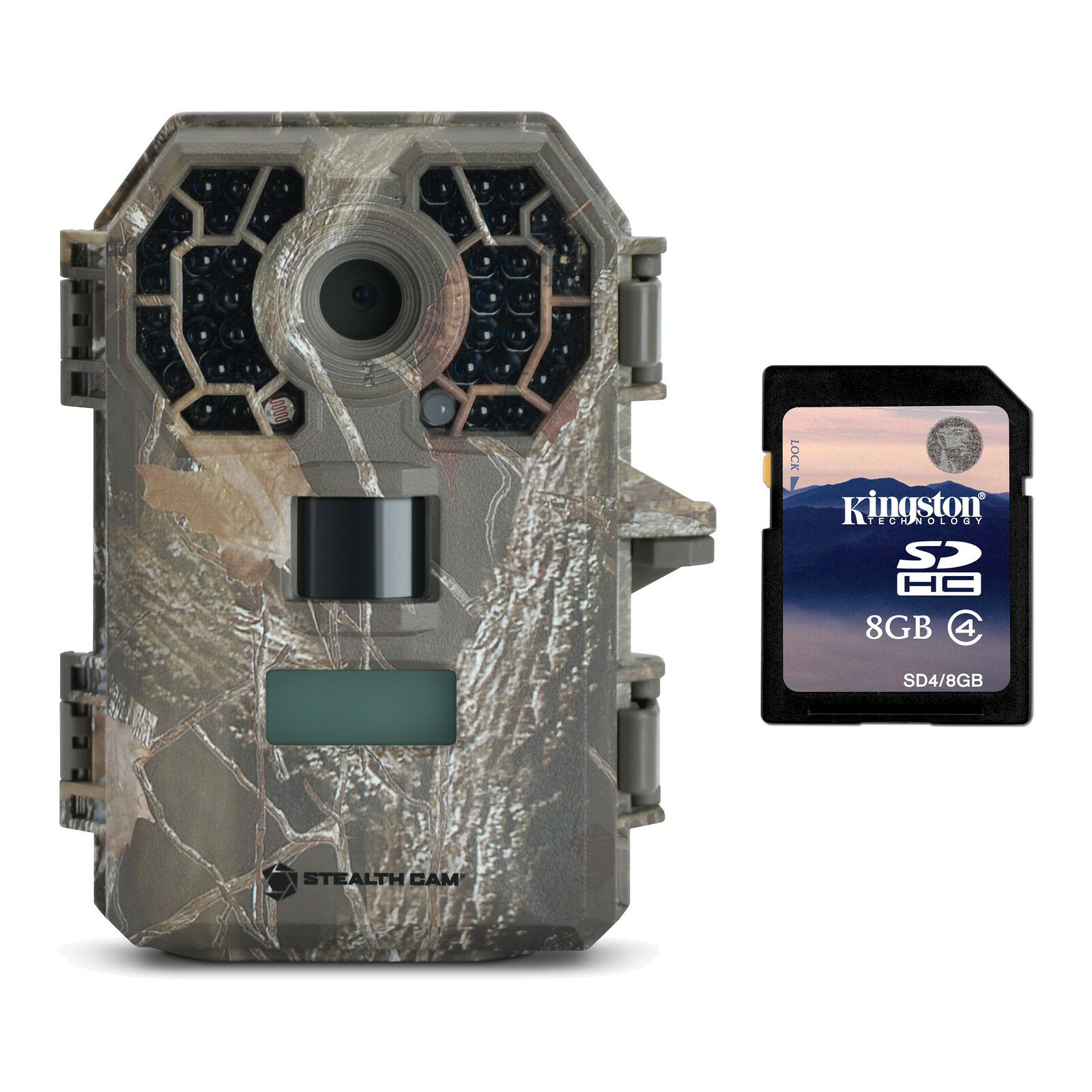 Stealth Cam 10MP Video  Infrared No Glow Hunting Game Trail Camera + 8GB SD Card  wholesale price