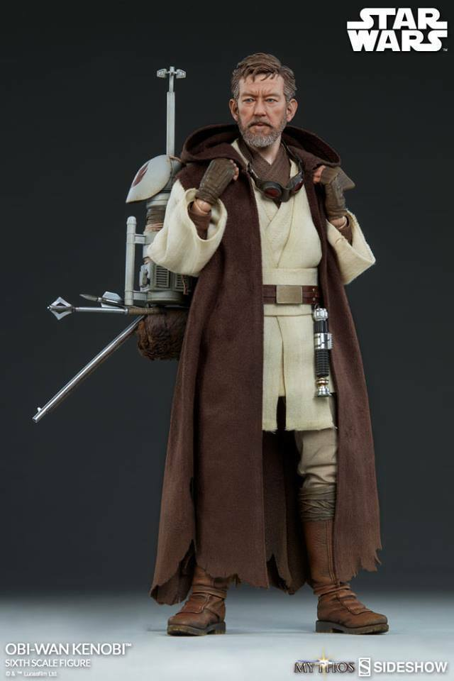 Sideshow 1:6 Scale Star Wars: Obi-Wan Kenobi  Mythos Series ST-100327 on eBay thumbnail