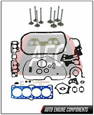 Full Gasket Set Intake & Exhaust Valve Fits Mitsubishi Dodge 2.0 L 4G63 #JGV045