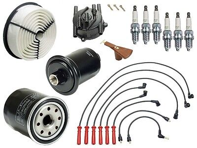 For Toyota 4Runner 92-95 3.0 V6 Ignition Tune Up Kit Spark Plugs /& Filters