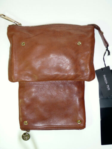 Pepe Patrizia 2 Transformable Marron 1 Cuir Neuf Pochette En vmn0wON8