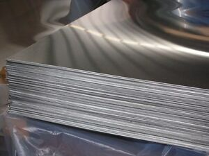 """ALUMINUM 6061-T6 .063 X 12/"""" X 48/""""  WITH  P.V.C 1-SIDE"""