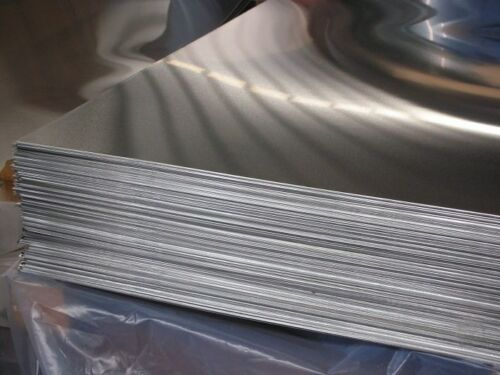"""1-SIDE ALUMINUM 6061-T6 .063 X 24/"""" X 24/""""  WITH  P.V.C"""