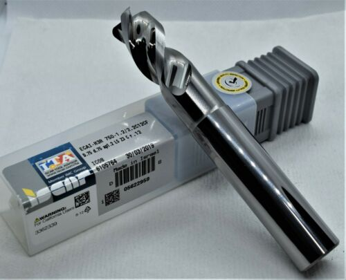 New ISCAR ECAI-H3R .750 x 3//4 x 1.2LOC x 5 3FL R.120 CARBIDE IC08 END MILL