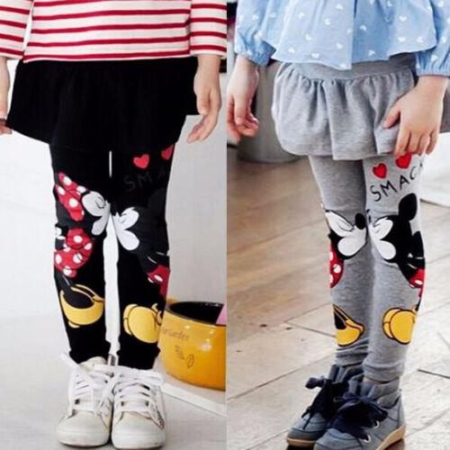 Toddler bambini ragazza Inverno Spesso Caldo Cotone Gonna Pantaloni Pantaloni Leggings Stretch
