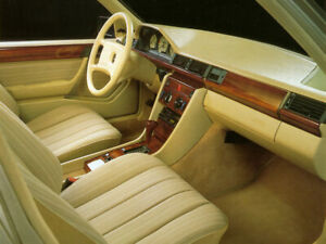 Carat Duchatelet Mercedes W124 Coupe 2 doors wood interior LHD