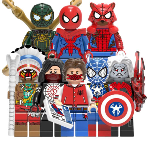 Action Figures Comic SuperHeroes New Small Toys Building Blocks Hobbies TV Games