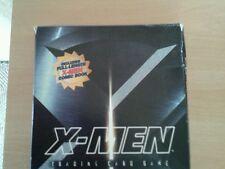 Vintage rare ,marvel x -men starter set , trading card game and comic in box .