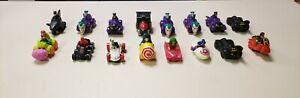 Vintage-DC-Marvel-Comics-1993-McDonald-039-s-Batman-Joker-Spider-Man-Lot-Of-16-Cars