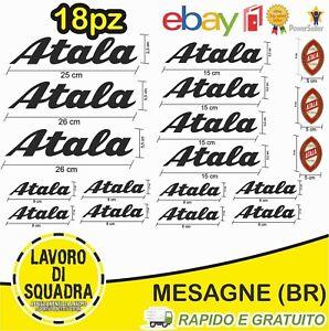 KIT-18-ADESIVI-PRESPAZIATI-BICI-ATALA-Bike-Bicicletta-logo-a-colori-Bici