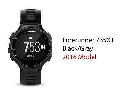 Garmin Forerunner 735XT XT HR Black Gray GPS Running Watch Multisport Heart Rate