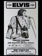 "Elvis Presley Pontiac 16"" x 12"" Photo Repro Concert Poster"