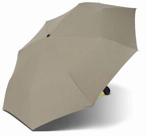 Herren-accessoires Kleidung & Accessoires Esprit Easymatic Light Regenschirm Schirm Neon Dots Yellow Zur Verbesserung Der Durchblutung
