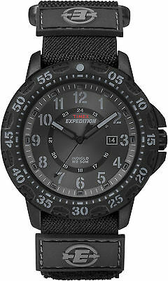 Timex T49997, Men's Watch, Expedition, Nylon Strap, Indiglo, Date, T499979J