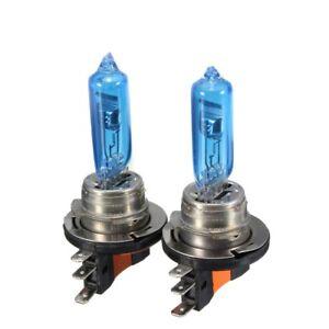 2x-H15-15-55W-12V-Halogenlampen-Fernlicht-Tagesfahrlicht-XENON-STYLE-Lampe