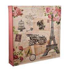 Large Travel Memories Ring binder Photo Album for 500 Photos 4' x 6'- FL500